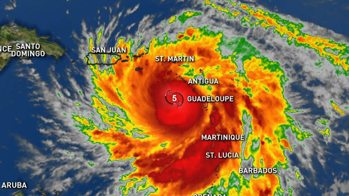 Hurricane Maria, 11 a.m. Tuesday, Sept. 19, 2017.