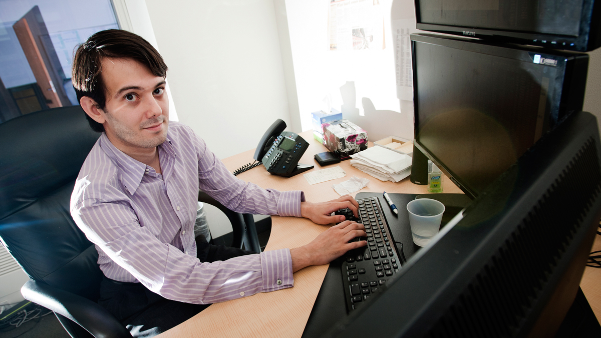 Turing Pharmaceuticals CEO Martin Shkreli, pictured here in this 2011 file photo, defended the 5000% price increase for the lifesaving drug Daraprim.