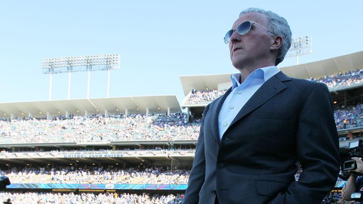 Former Dodgers team owner Frank McCourt.