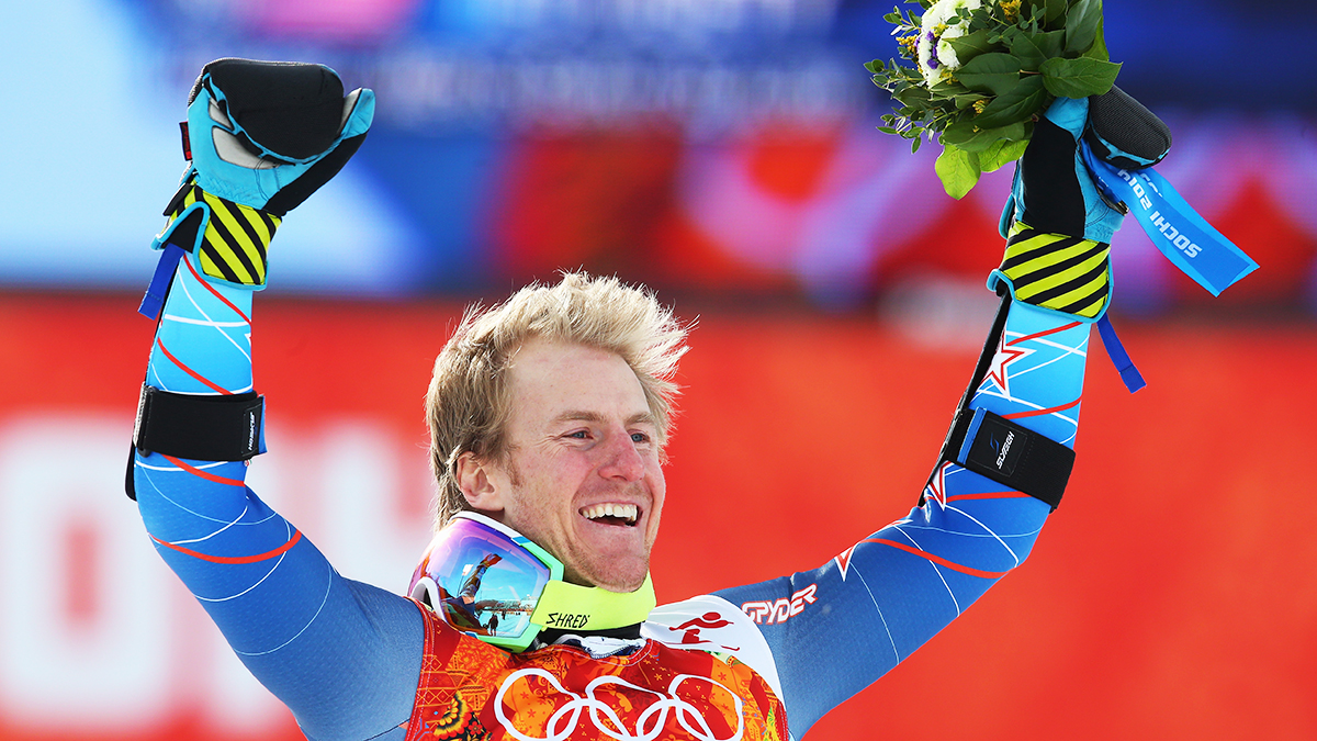 American Ted Ligety won gold in the giant slalom in Sochi on Wednesday.