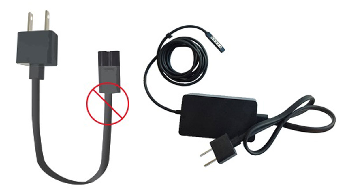 Microsoft is recalling AC power cords the company says can overheat and cause fires or electrical shock.