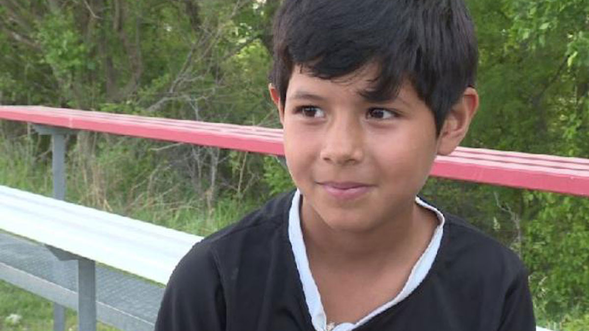Mili Hernandez is a star player for her soccer team. She is 8 years old and plays with 11-year-olds, WOWT reported.