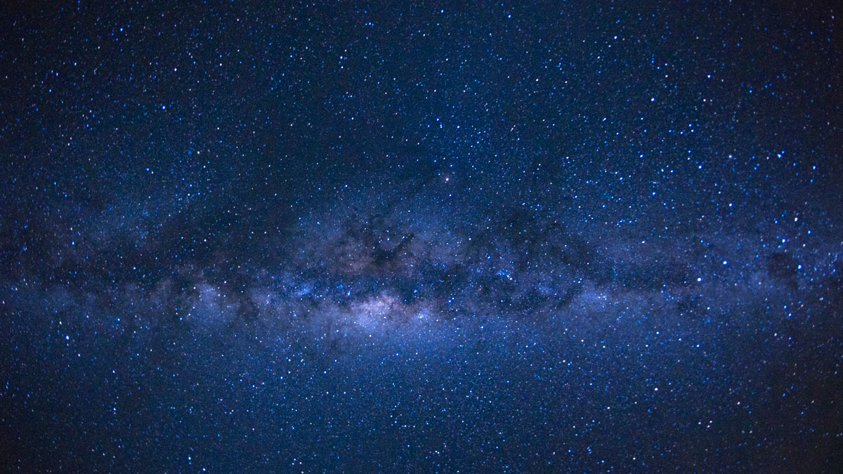 File Photo—The Milky Way as seen from the French island of Reunion in the Indian Ocean.