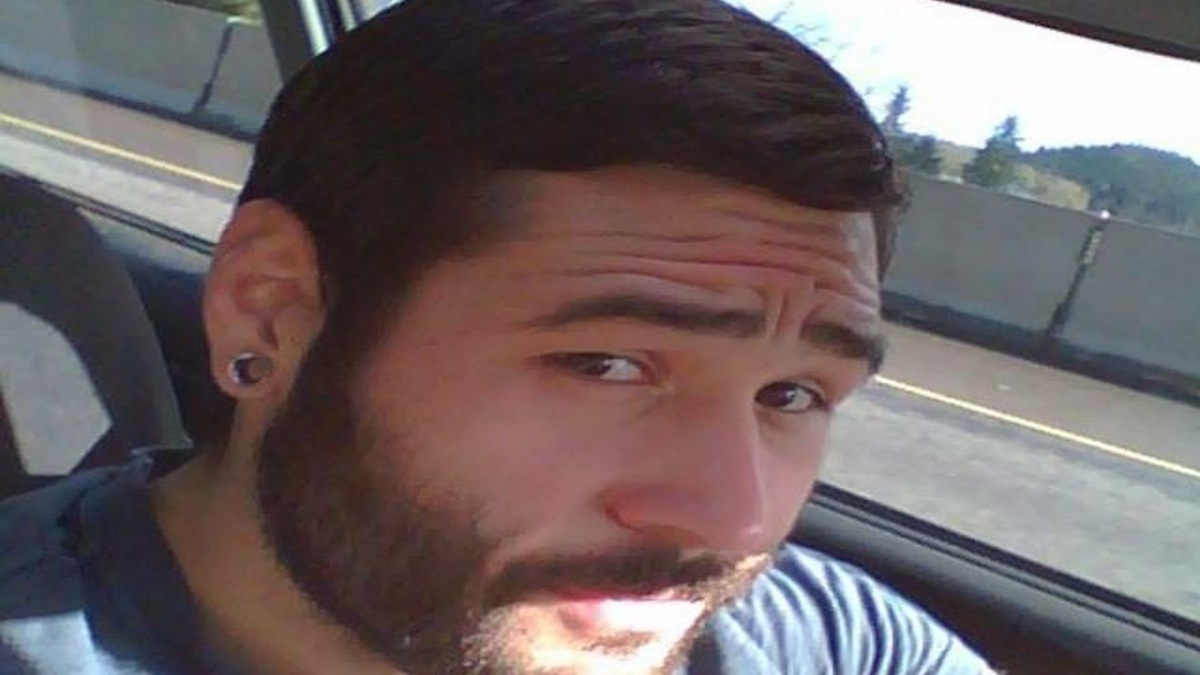 Chris Mintz, seen in this undated photo sent by his aunt, Sheila Brown, was shot seven times in the Oregon shooting that left ten people dead and seven injured.