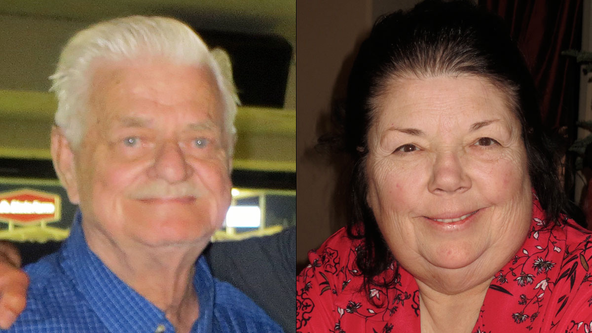 Cecil Knutson, 79 and Diana Bedwell, 67 were last seen Sunday afternoon leaving Valley View Casino in a white 2014 Hyundai Sonata.