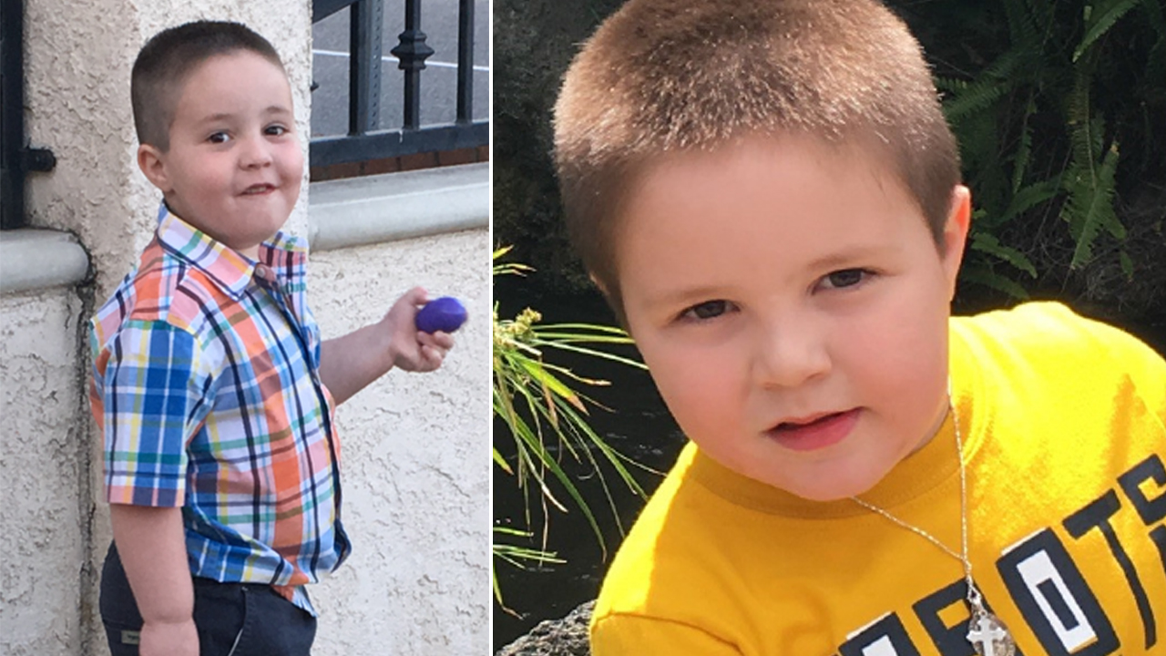 Aramazd Andressian Jr., a South Pasadena boy who went missing in April 2017, in undated photos provided by his family.