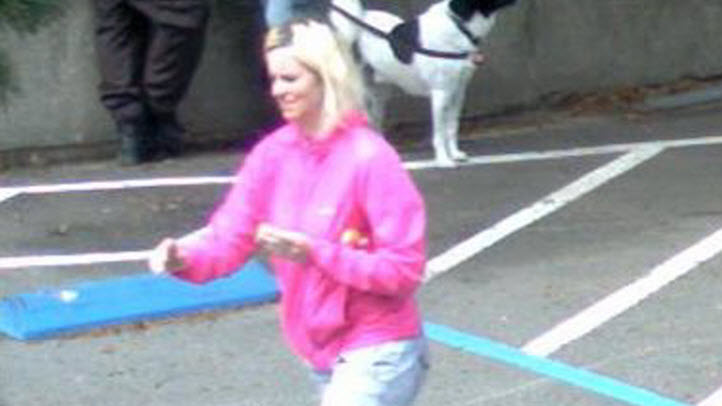 Surveillance picture of 33-year-old Magdalena Glinkowski.