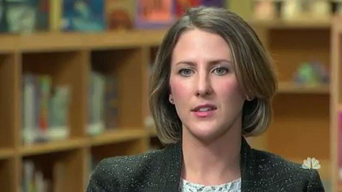 Elizabeth MacWilliams, principal of Caroll Magnet Middle School in Raleigh, North Carolina.