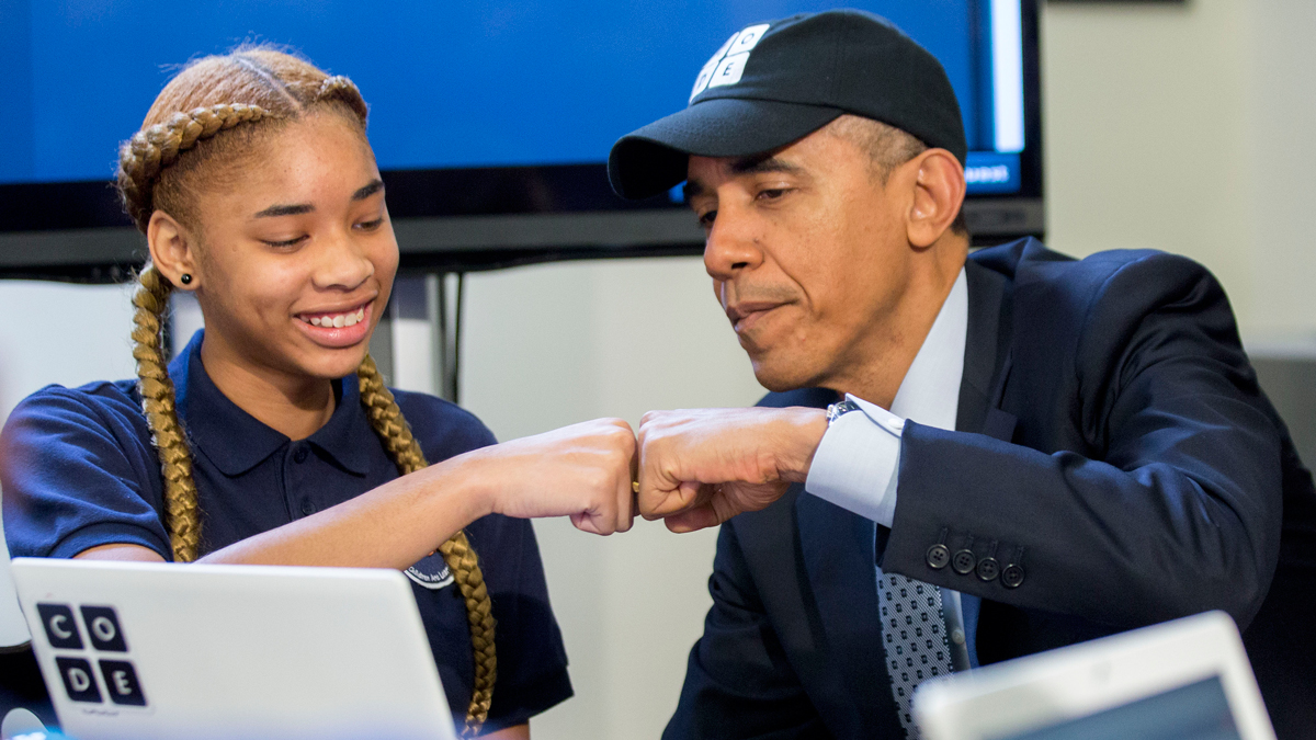 The White House launched a Facebook page for President Obama on Monday, Nov. 9, 2015.