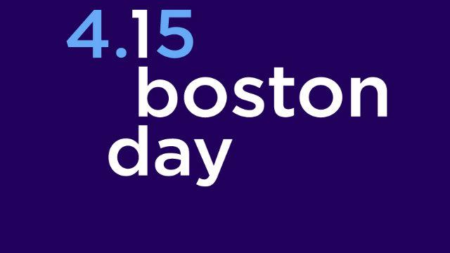 One Boston Day logo.