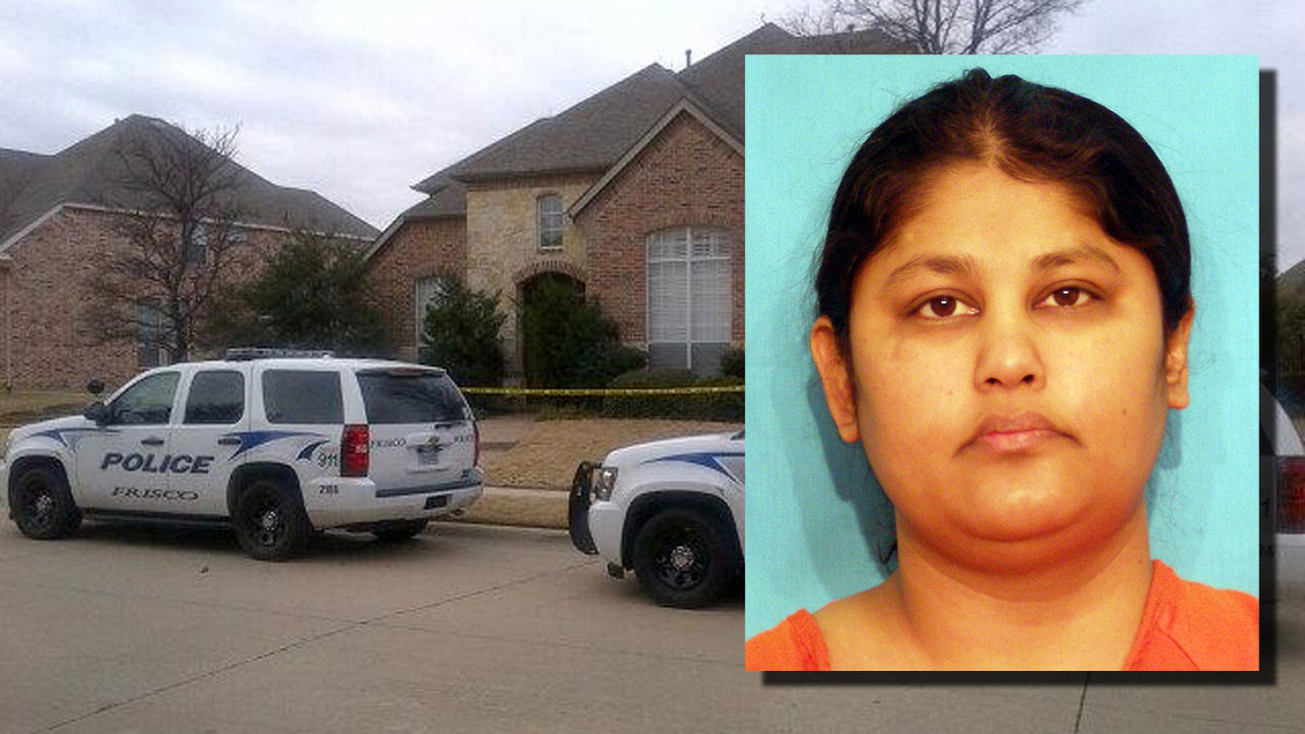 Frisco police say Pallavi Dhawan, inset, confessed to killing her 10-year-old boy, Arnav.