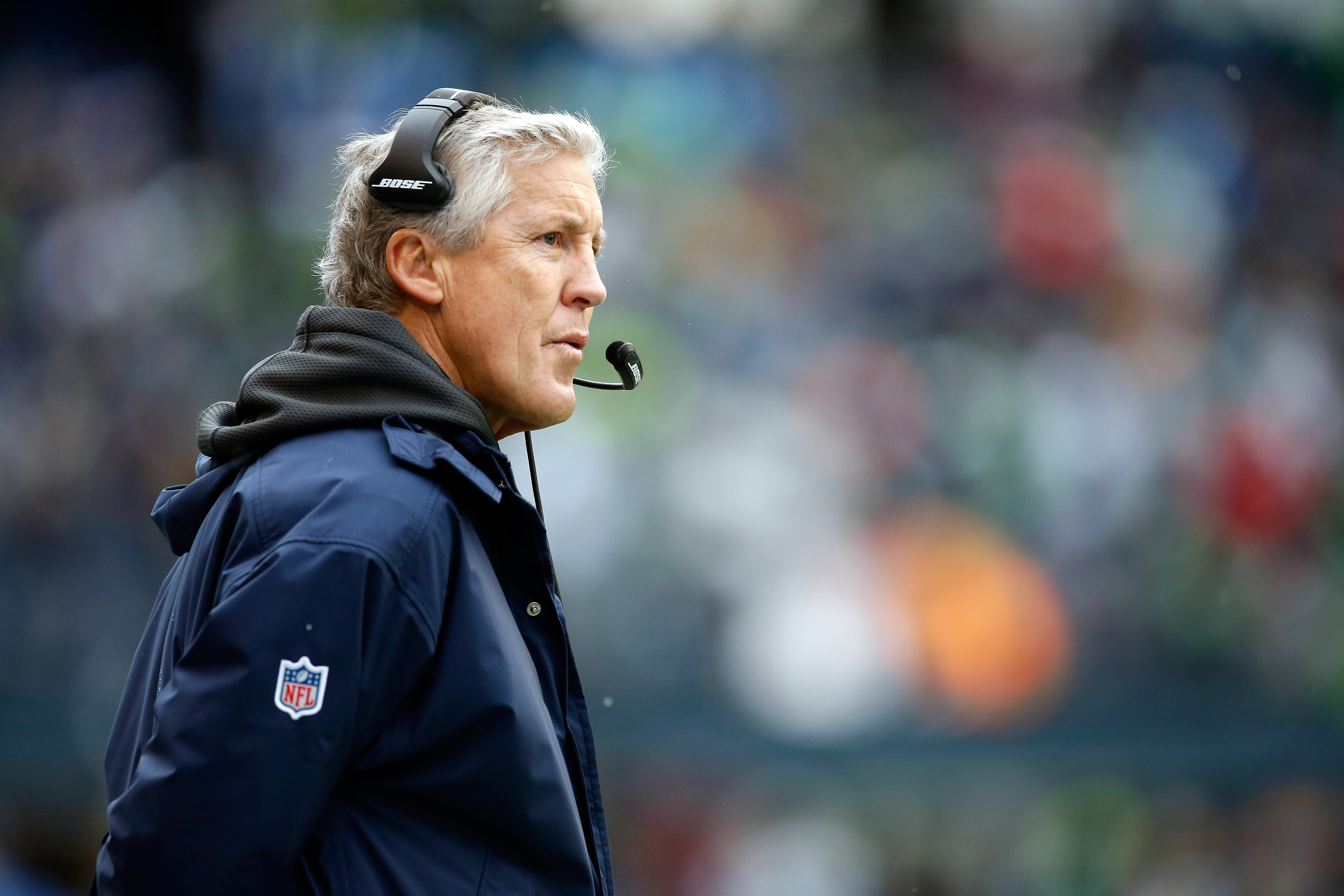 Seahawks coach Pete Carroll wants his defenders to take the ball away.
