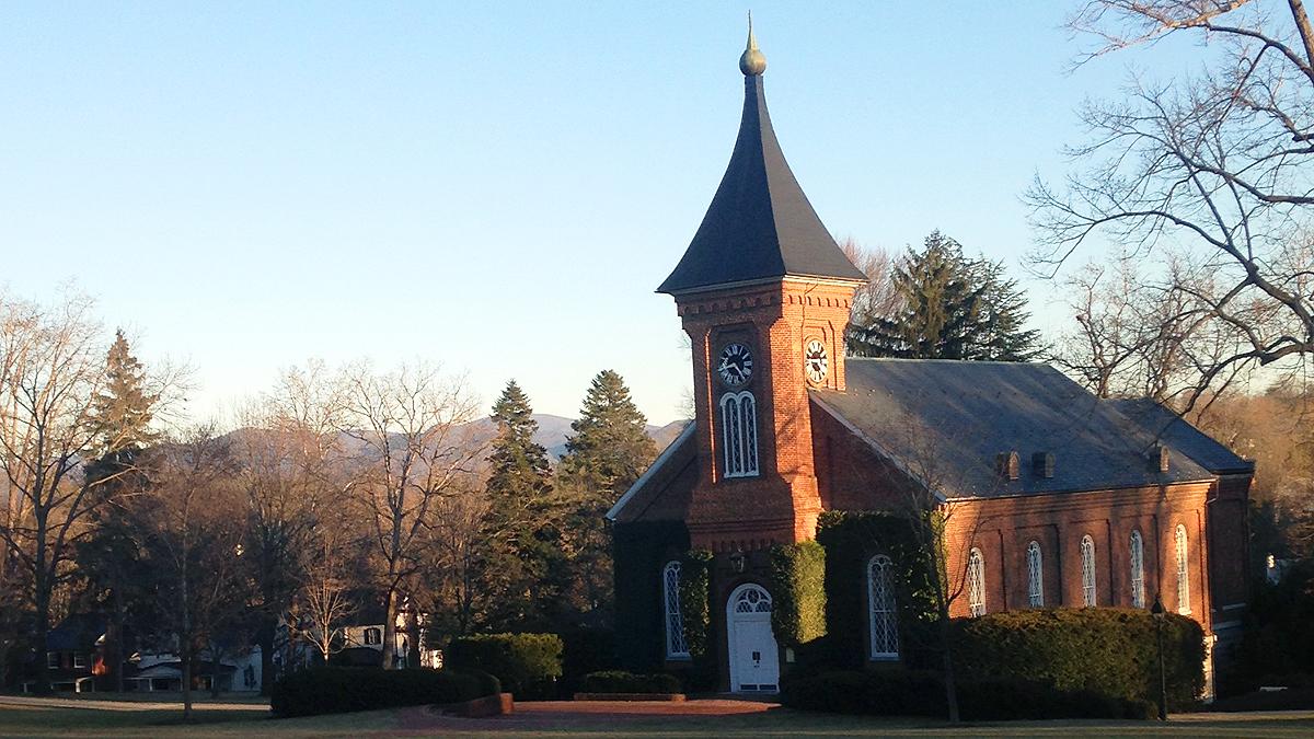 The chapel at Washington & Lee