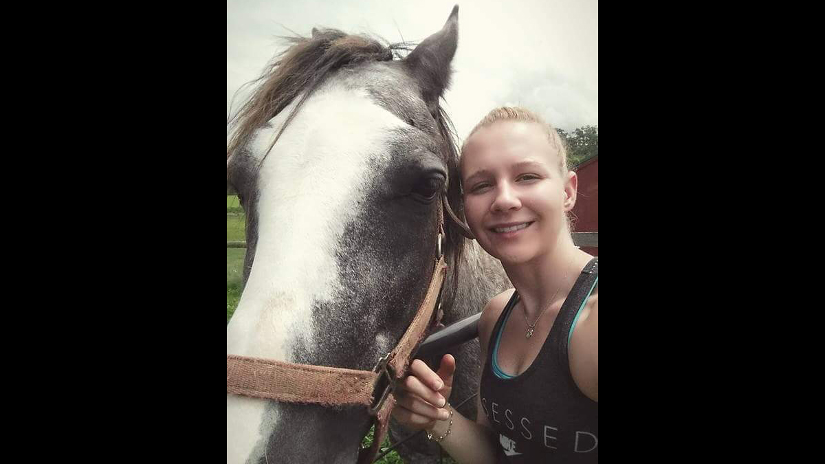 Reality Lee Winner is seen in this undated family photo.