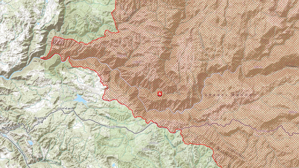 Rim Fire spokesman Brian Haines pinpointed the origin of the fire to one location: The Jawbone Ridge in Tuolumne County, which sits on Groveland Ranger District land, at the point where the Clavey River and the Tuolumne Wild and Scenic River meet up.