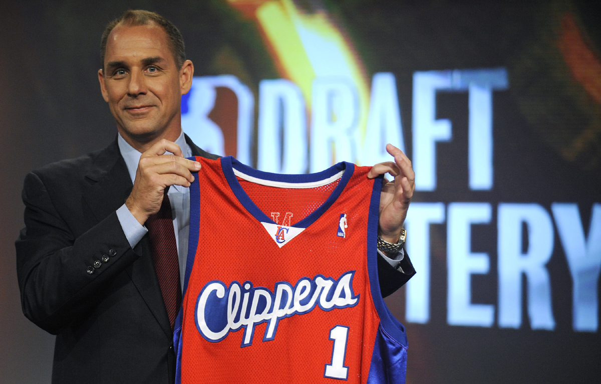 FILE - Los Angeles Clippers president Andy Roeser, seen here in a 2009 file photo, is taking an indefinite leave of absence.