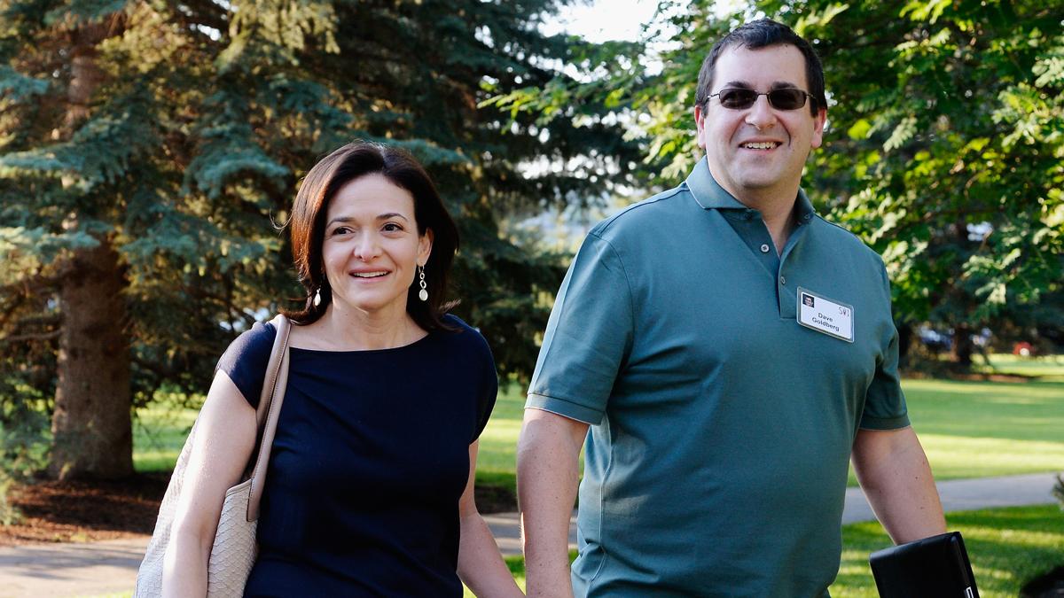 Sheryl Sandberg and her late husband David Goldberg in 2013.