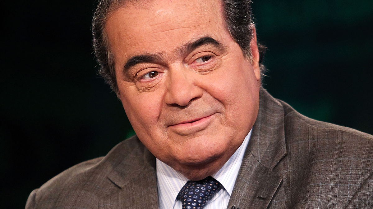 Late Supreme Court Justice Antonin Scalia appears on Fox News on July 27, 2012 in Washington, D.C.