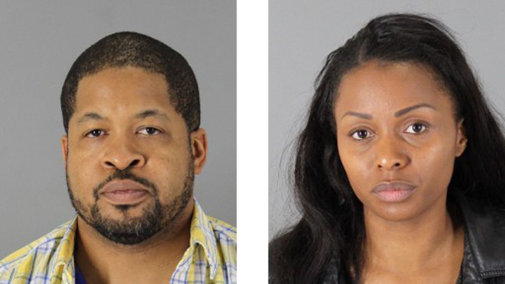 Sean Sharif Crudup, 44, and his wife, Raychas Elizabeth Thomas, 32 are accused of stealing luggage from SFO baggage claim.