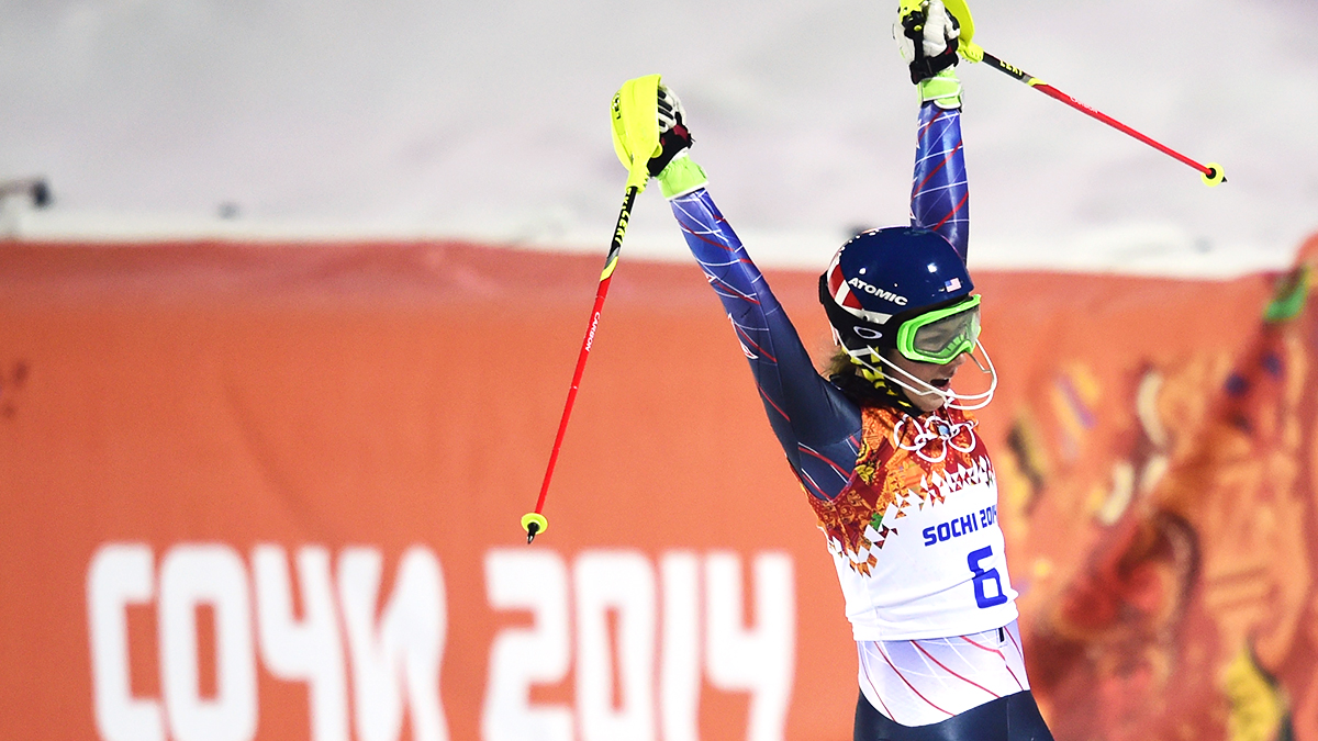 American teenager Mikaela Shiffrin won Olympic gold in the Olympic slalom on Friday while fighting the effects of a cold. At 18, Shiffrin is the youngest Olympic slalom champion. She would also be the first American women's slalom champion in 42 years, since Barbara Cochran won at the 1972 Sapporo Olympics.