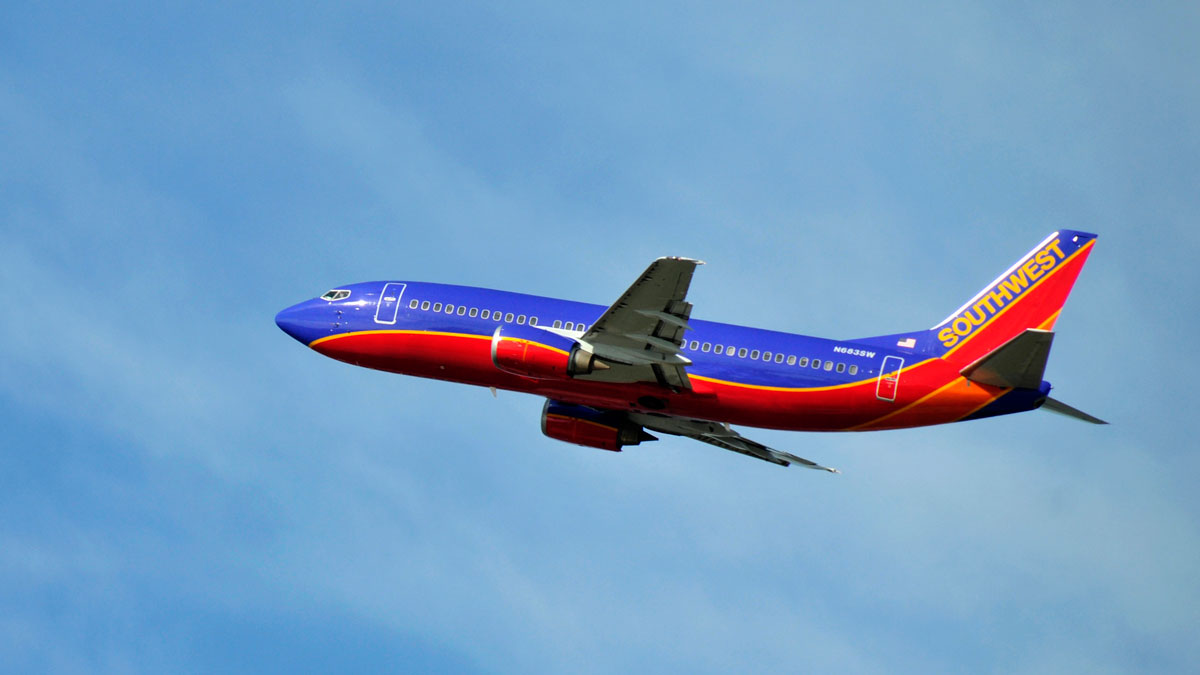 A Southwest Airlines jet is pictured in this file photo.