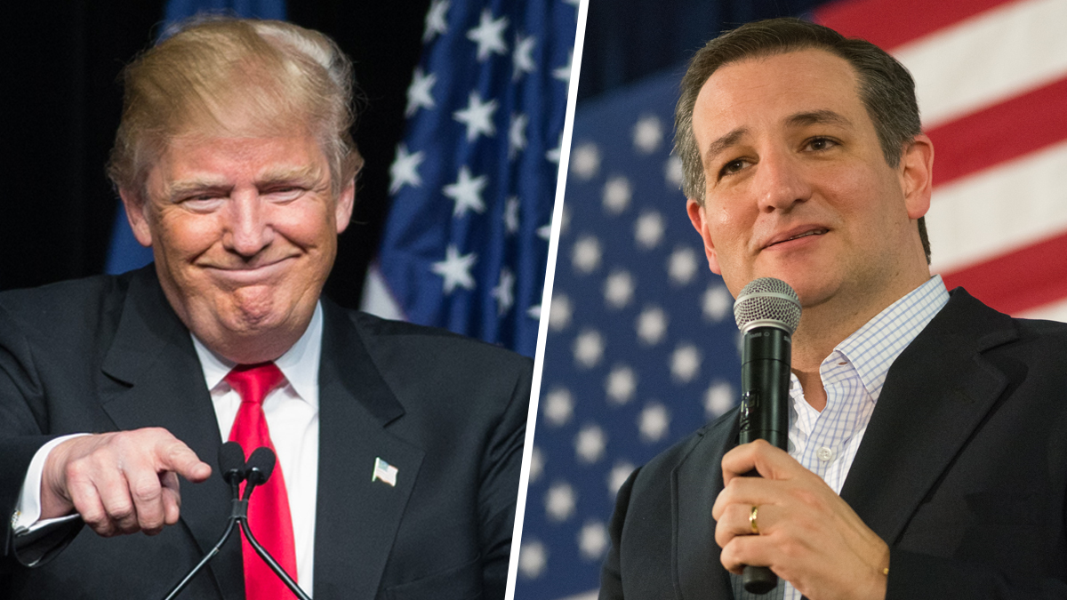 Donald Trump and Sen. Ted Cruz (R-TX) finished first and second in the Nevada GOP caucuses on Tuesday, Feb. 23, 2016.