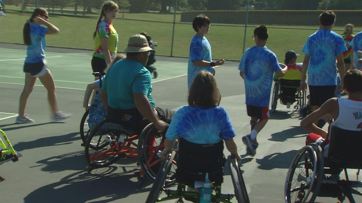 Hospital for Special Care Ivan Lendl Adaptive Sports Camp at the University of Saint Joseph
