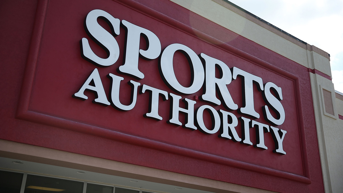 A Sports Authority store in Miami, Florida. The chain of stores filed for bankruptcy in early March, and now plans to sell its assets in a court-supervised auction in May.
