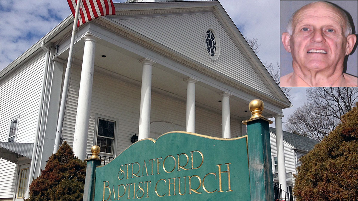 Robert Genevicz, the pastor of the Stratford Baptist Church, has been arrested and charged with stealing thousands of dollars from an elderly parishioner.