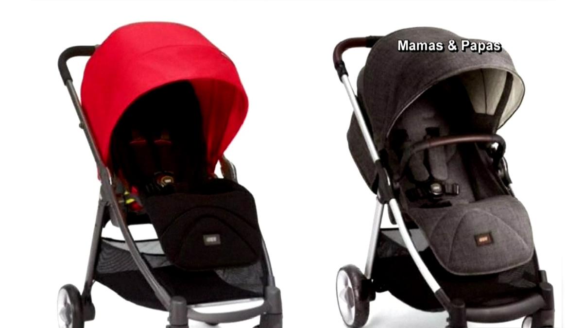 Mamas & Papas recalls nearly 3,000 Armadillo Flip and Flip XT strollers due to a fall hazard.
