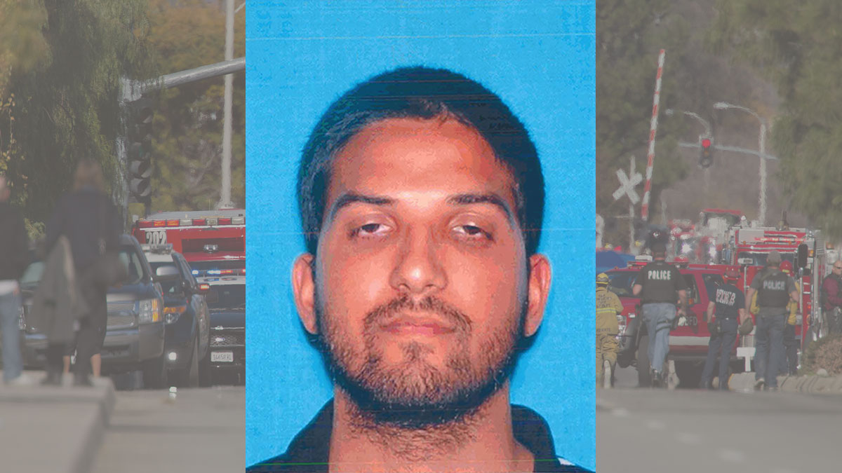 Syed Rizwan Farook, 28, is suspected in a South California shooting rampage that left 14 dead and 21 injured Wednesday.