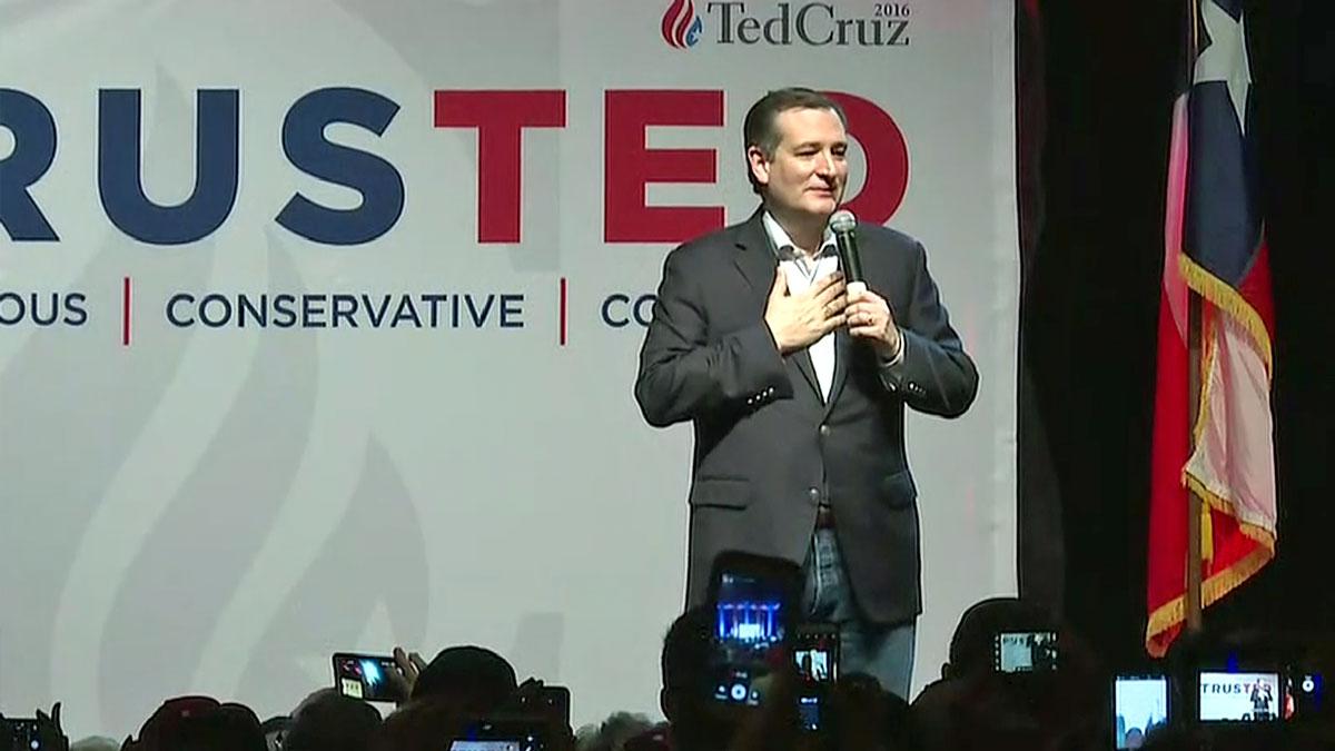 U.S. Sen. Ted Cruz (R-TX) speaks at his