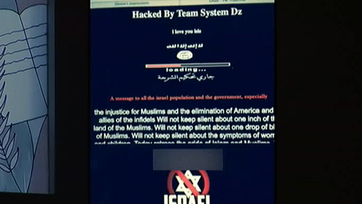 A South Florida temple had its website hacked on Thursday 10/9/14.
