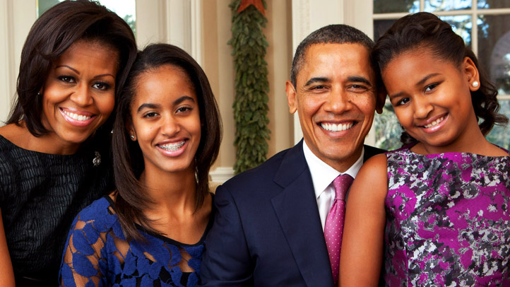 Where the Obama family lives after President Barack Obama's term is up to 12-year-old Sasha Obama, the president said this week.