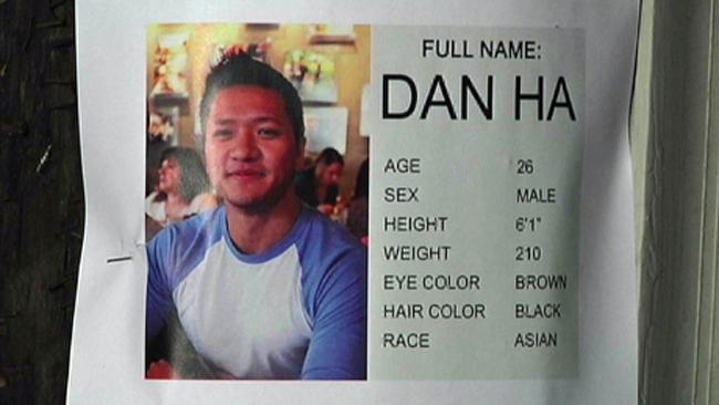 Flyer for Dan Ha.