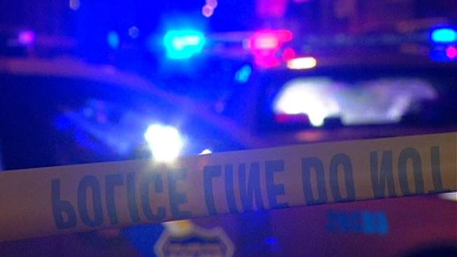 One person was killed in a one-car crash on Al Harvey Road in Stonington early Wednesday morning.