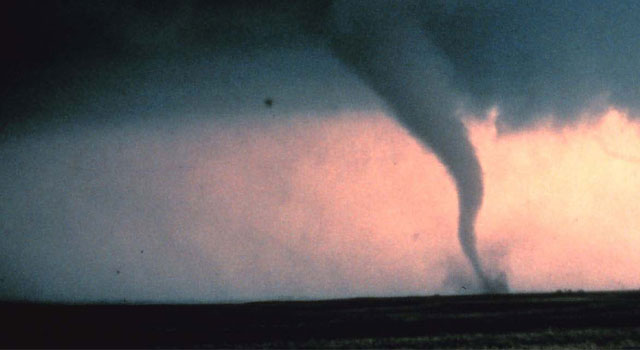 Storms were expected to produce potentially life-threatening tornadoes Tuesday.