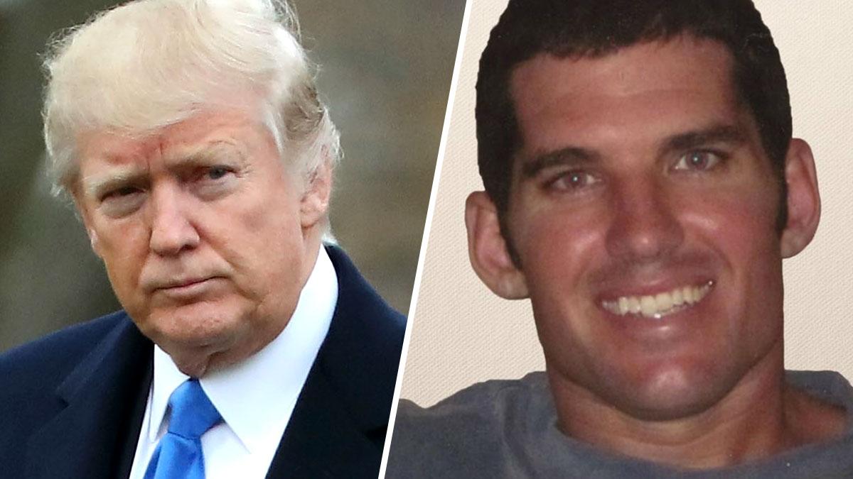 Donald Trump and Chief Special Warfare Operator William