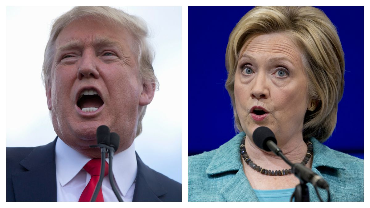 Donald Trump and Hillary Clinton will both be in New Hampshire on Thursday.