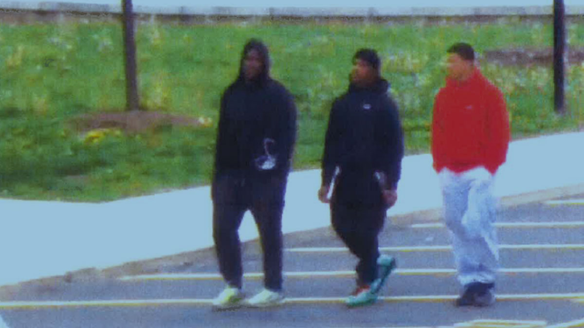 University of Hartford said suspect is man in the middle