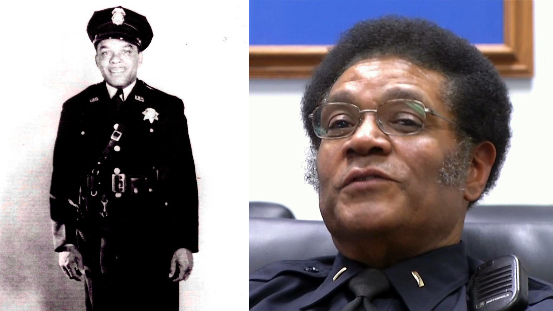 Alfred Robinson was the City of Vallejo's first African-American police officer. His 64-year-old son, Lt. Herman Robinson, is the Vallejo Police Department's longest-serving officer in its history.