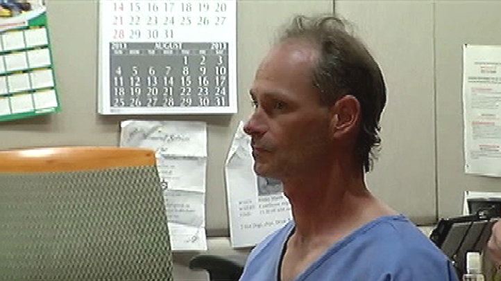 Nathan Louis Campbell failed a sobriety test when he turned himself into police two hours after plowing into a crowd on the Venice Beach boardwalk. He appeared in court Aug. 6, 2013, pictured, pleading not guilty to murder, along with 16 counts of assault with a deadly weapon and 17 counts of hit-and-run.