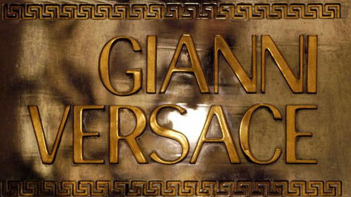 File photo of Versace logo.