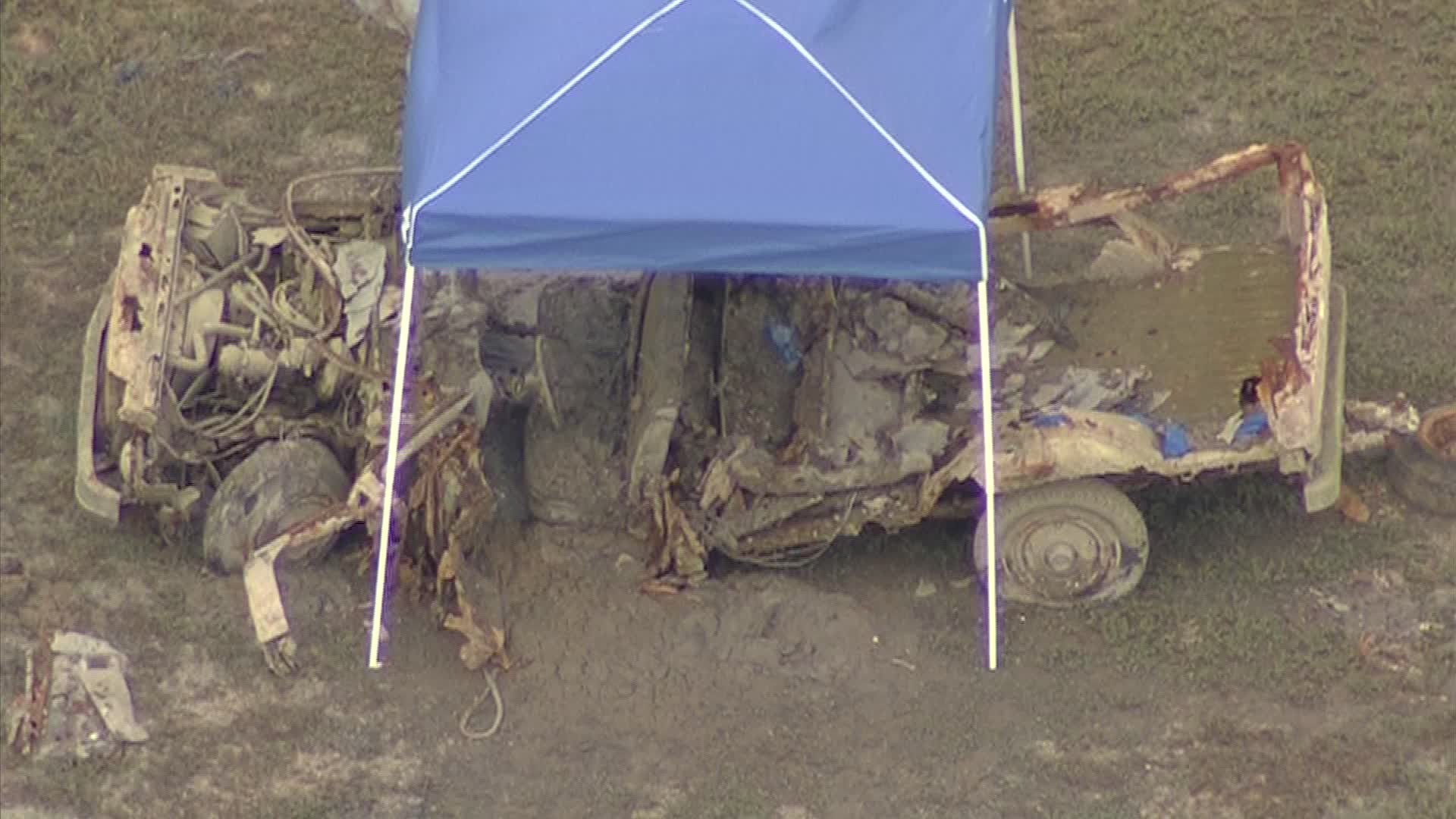 On Thursday a truck with a human skeleton inside was discovered in Lake Granbury in Hood County. The truck was found near the Lake Bridge on Business 377 in Granbury. Investigators believe the remains may be the body of Helen Hollady who disappeared 35 years ago.