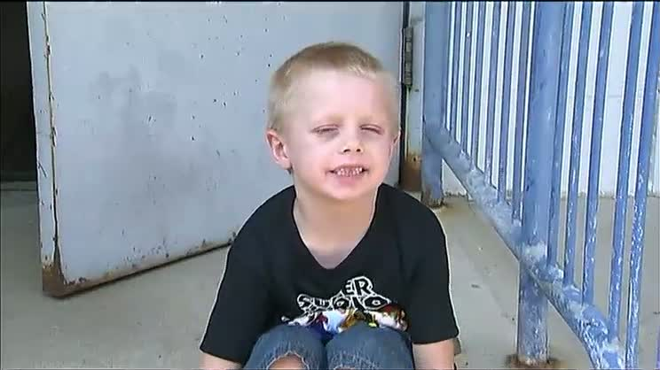 Danny Nickerson, who had an inoperable brain tumor, asked for birthday cards for his 6th birthday