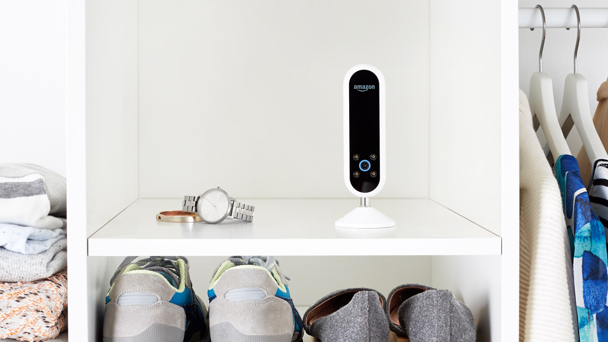Amazon's Echo Look will take pictures of a person and their outfit, store the photos as well as have stylists give feedback and advice on the fashion.