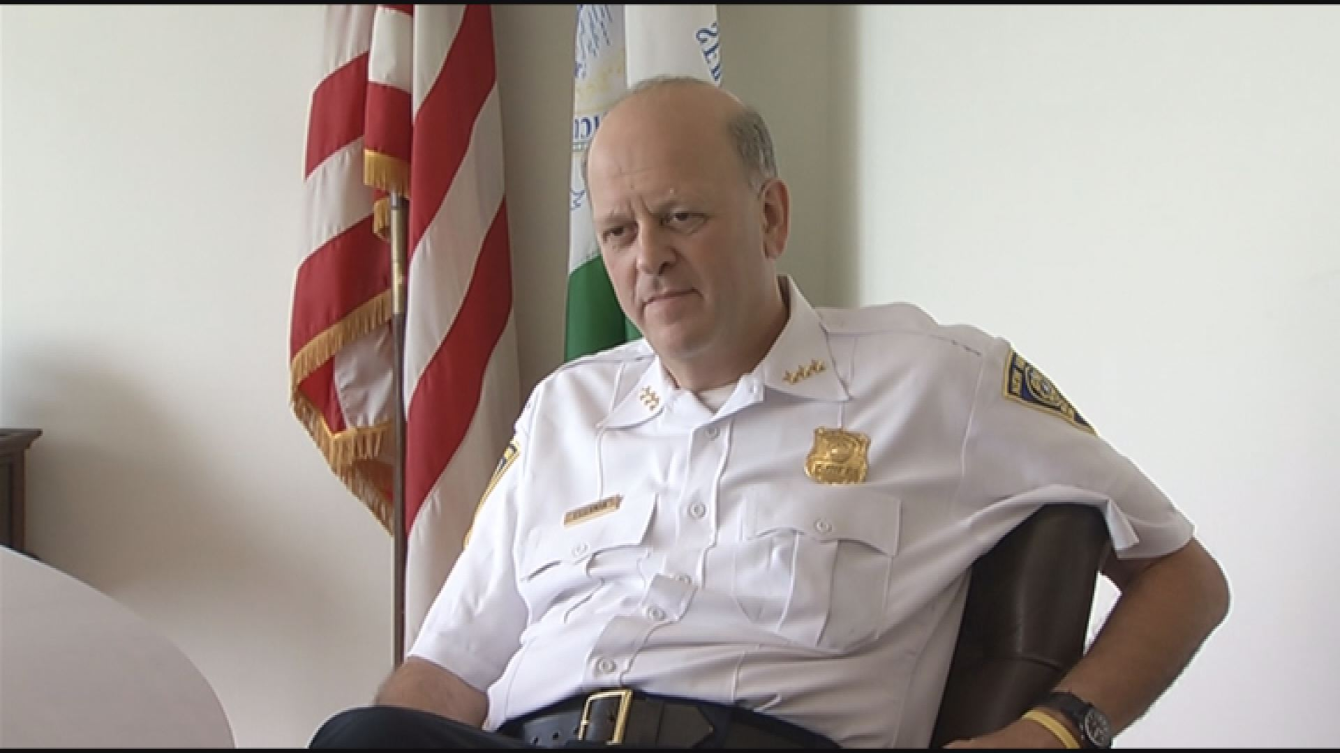 New Haven Mayor Toni Harp has written a letter to Police Chief Dean Esserman (pictured) reprimanding him for his conduct during a Yale-Army football game in September.