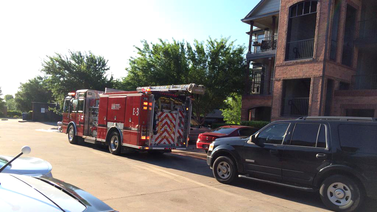 A woman was severely burned when her wheelchair caught fire in her McKinney apartment Thursday morning, firefighters say.